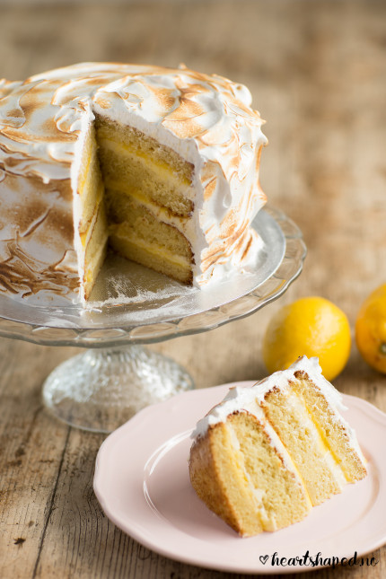 Lemon Meringue-kake